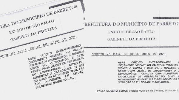 <a href='https://camarabarretos.sp.gov.br/noticia/decretos-para-combate-a-covid-sao-enviados-a-camara!5093'>Decretos para combate à covid são enviados à Câmara</a>
